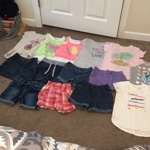 4T/4 Girls 14 Piece Bundle
